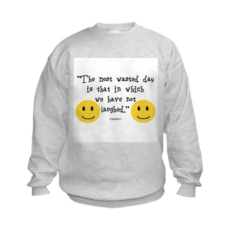 The Most Wasted Day Kids Sweatshirt