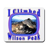 I Climbed Wilson Peak Mousepad