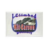I Climbed Kit Carson Mountain Rectangle Magnet
