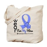 Esophageal Cancer Hero Tote Bag