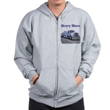 Heavy Blues Zip Hoody