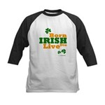 Irish Born Live Die Kids Baseball Jersey