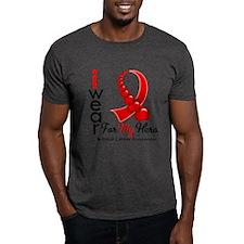 Blood Cancer Hero Ribbon T-Shirt