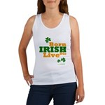 Irish Born Live Die Women's Tank Top