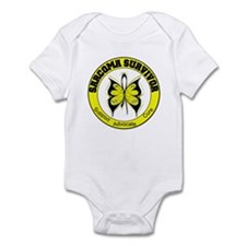 Sarcoma Survivor Butterfly Infant Bodysuit