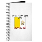 My Vatican City Mom Loves Me Journal