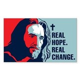 Real Hope Rectangle Sticker 10 pk)