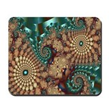 """Good Earth 2"" Fractal Art Mousepad"