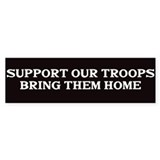 Support out Troops Bumper Sticker