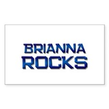 brianna rocks Rectangle Decal