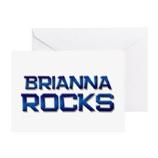 brianna rocks Greeting Card