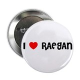 I LOVE RAEGAN 2.25&quot; Button (10 pack)