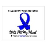ColonCancer Granddaughter Small Poster