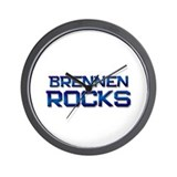 brennen rocks Wall Clock