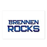brennen rocks Postcards (Package of 8)