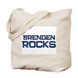 brenden rocks Tote Bag