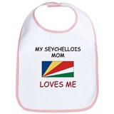 My Seychellois Mom Loves Me Bib