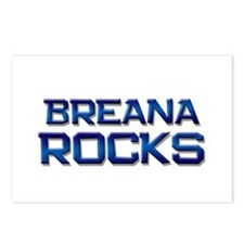 breana rocks Postcards (Package of 8)