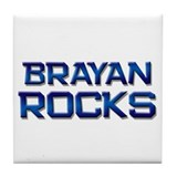 brayan rocks Tile Coaster