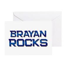 brayan rocks Greeting Card