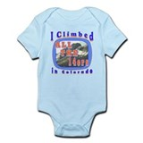 I climbed all the 14ers in Co Infant Bodysuit
