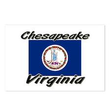 Chesapeake virginia Postcards (Package of 8)