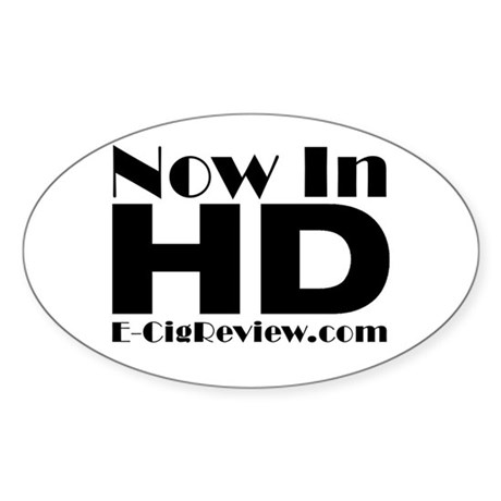 HD Sticker (Oval)