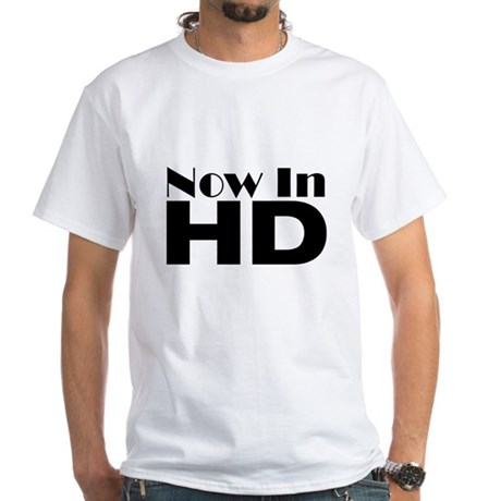 HD White T-Shirt