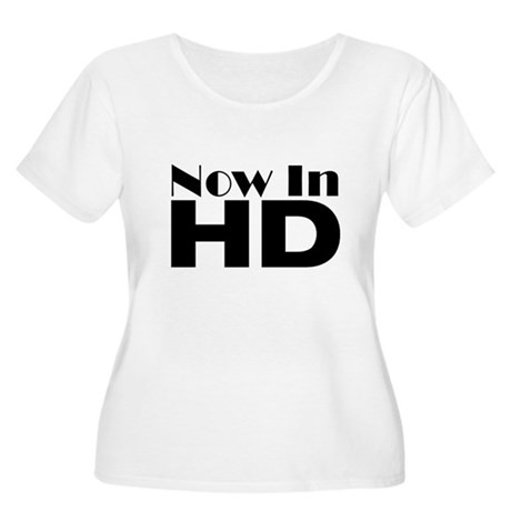 HD Women's Plus Size Scoop Neck T-Shirt