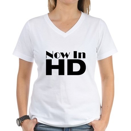 HD Women's V-Neck T-Shirt