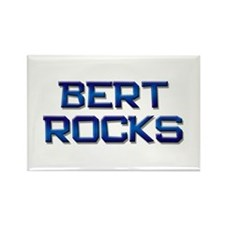 bert rocks Rectangle Magnet