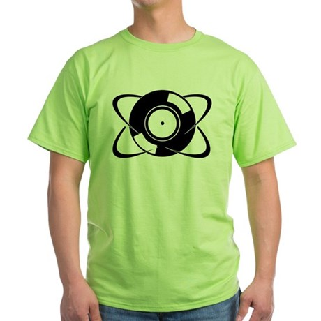 Record Atom Green T-Shirt