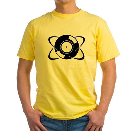 Record Atom Yellow T-Shirt
