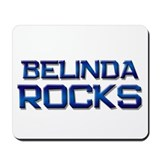 belinda rocks Mousepad