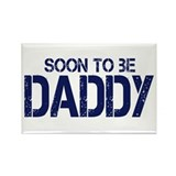 Soon to be Daddy Rectangle Magnet