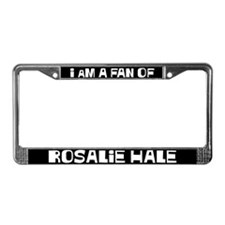 I am a fan of Rosalie Hale License Plate Frame