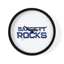 barrett rocks Wall Clock