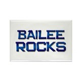 bailee rocks Rectangle Magnet (10 pack)