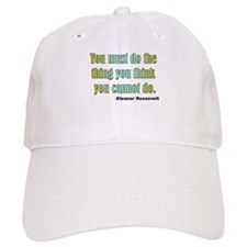Eleanor Roosevelt quote 2 Baseball Cap