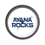 ayana rocks Wall Clock