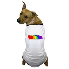 Rainbow Havanese Dog T-Shirt