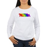 Rainbow Airedale Terrier T-Shirt