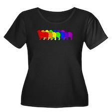 Rainbow Australian Shepherd T
