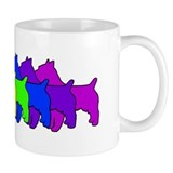 Rainbow Australian Terrier Small Mugs