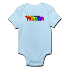 Rainbow Bedlington Terrier Onesie