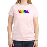 Rainbow Boston Terrier  T-Shirt