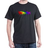 Rainbow Bull Terrier T-Shirt