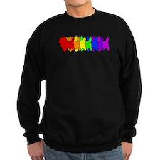 Rainbow Cairn Terrier Sweatshirt