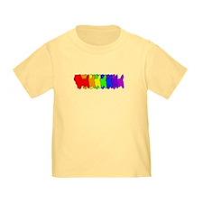 Rainbow Cairn Terrier T