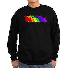 Rainbow Cocker Spaniel Jumper Sweater